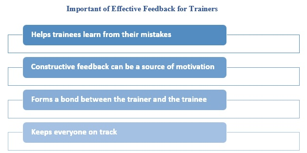 Important of Effective Feedback for Trainers